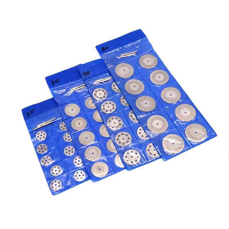 Rotary Tool Circular Saw Blades Cutting Diamond Disc Mandrel