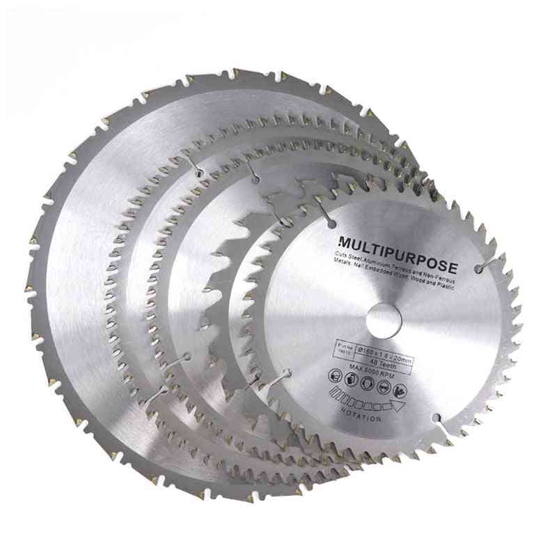1pc Tct Circular Saw Blade For Wood Plastic Acrylic Woodworking