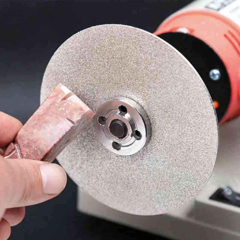Diamond Coated Flat Lap Wheel Lapidary Polishing Grinding Disc