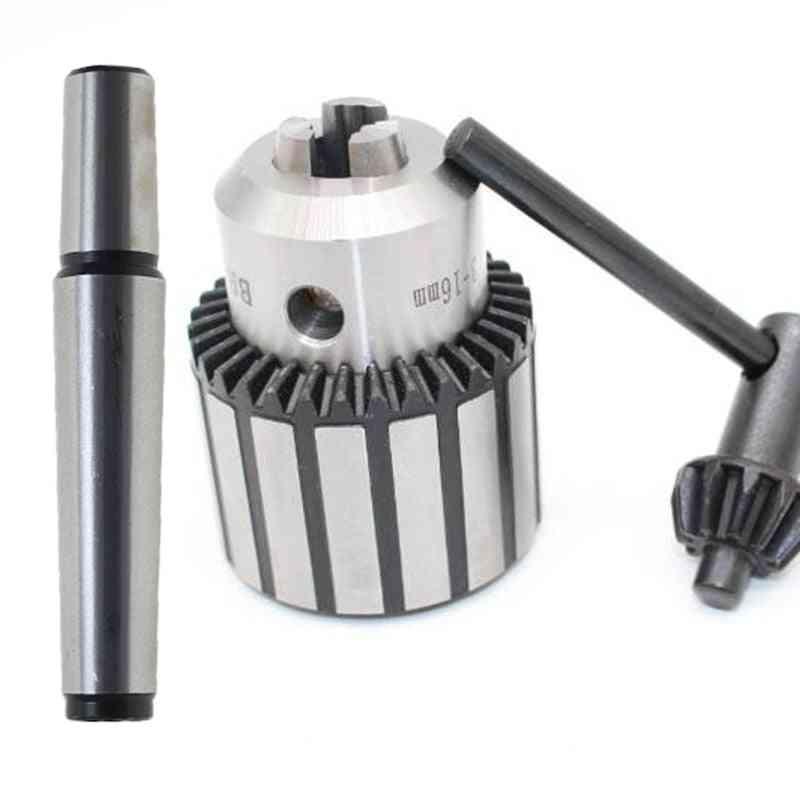 1set Precision Morse Cone Mt2 Mt3 Mt4 B10 B12 B16 B18 Light Duty Key Drill Chuck