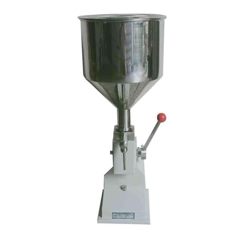 Manual Filling Machine For Cream, Shampoo Cosmetic Liquid Paste Oil Filler