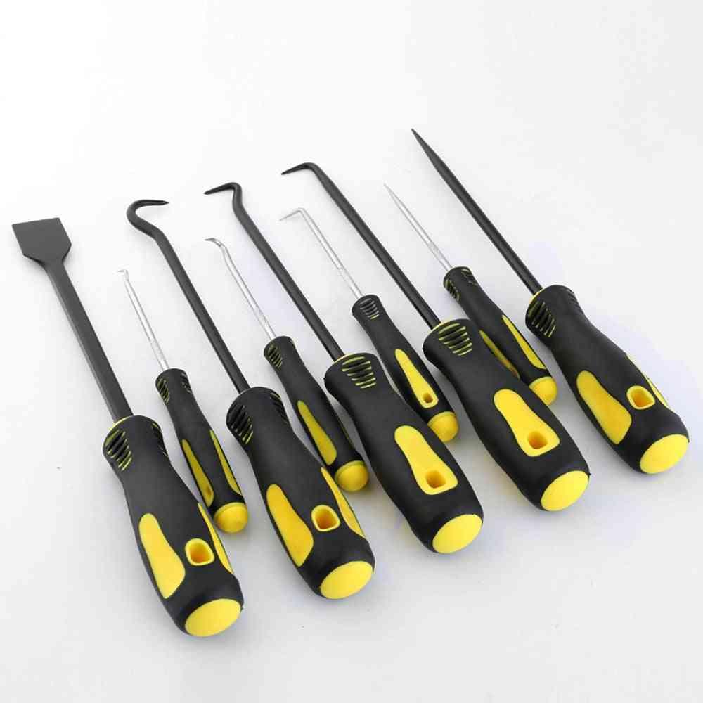 Hook Pick Set, Car Repair Oil Seal O-ring Remover Hand Tool