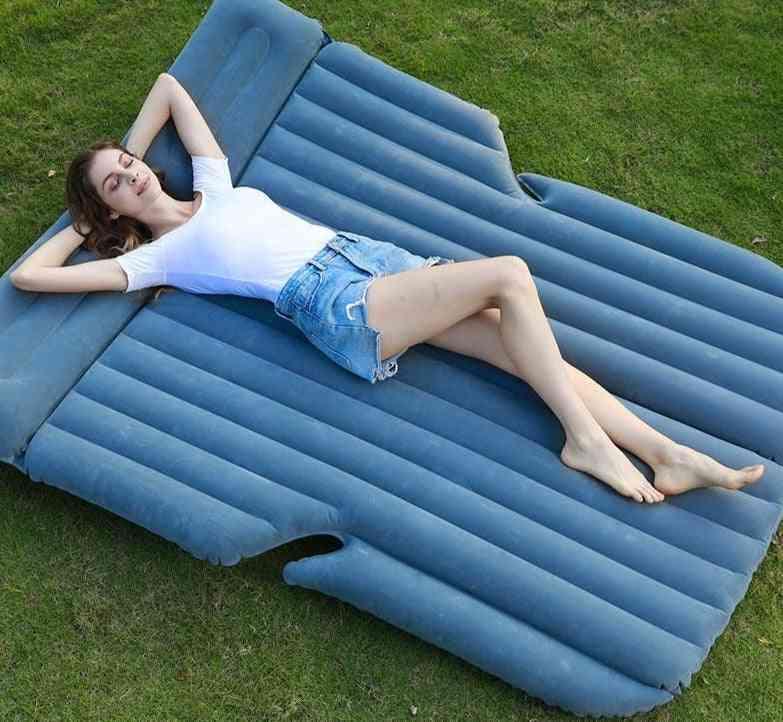 Car Inflatable Bed, Outdoor Air Cushion Portable Mattress