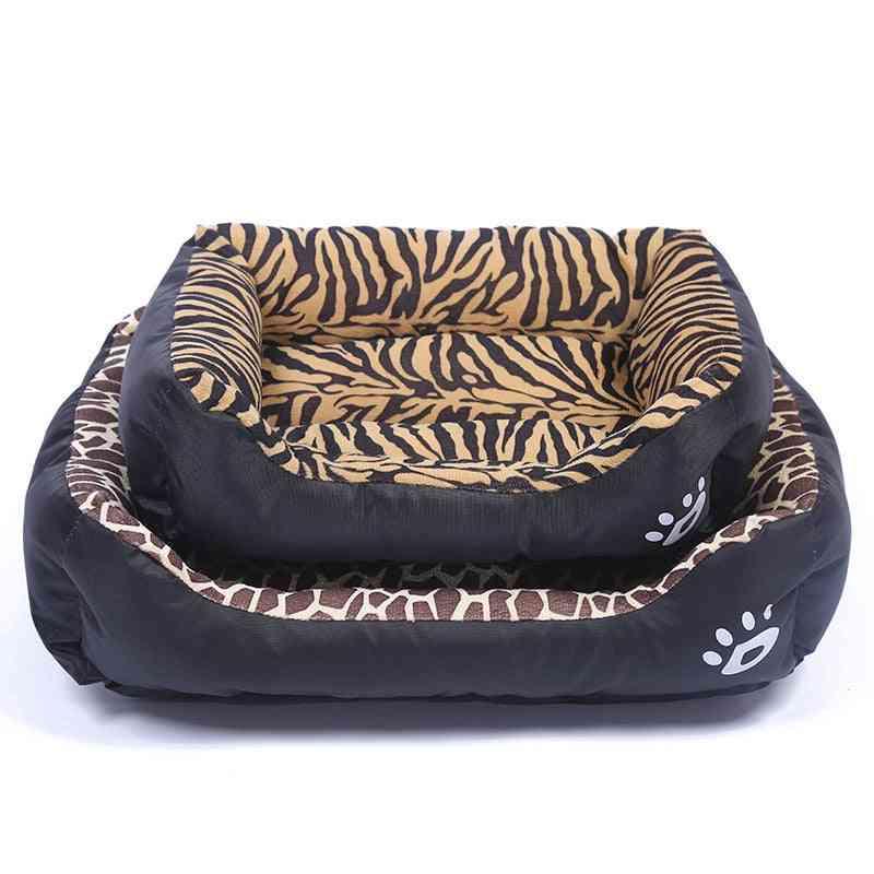 Pet Cat, Dog, Bed, Warm Cozy House, Soft Fleece Nest, Baskets Mat, Autumn, Winter, Waterproof