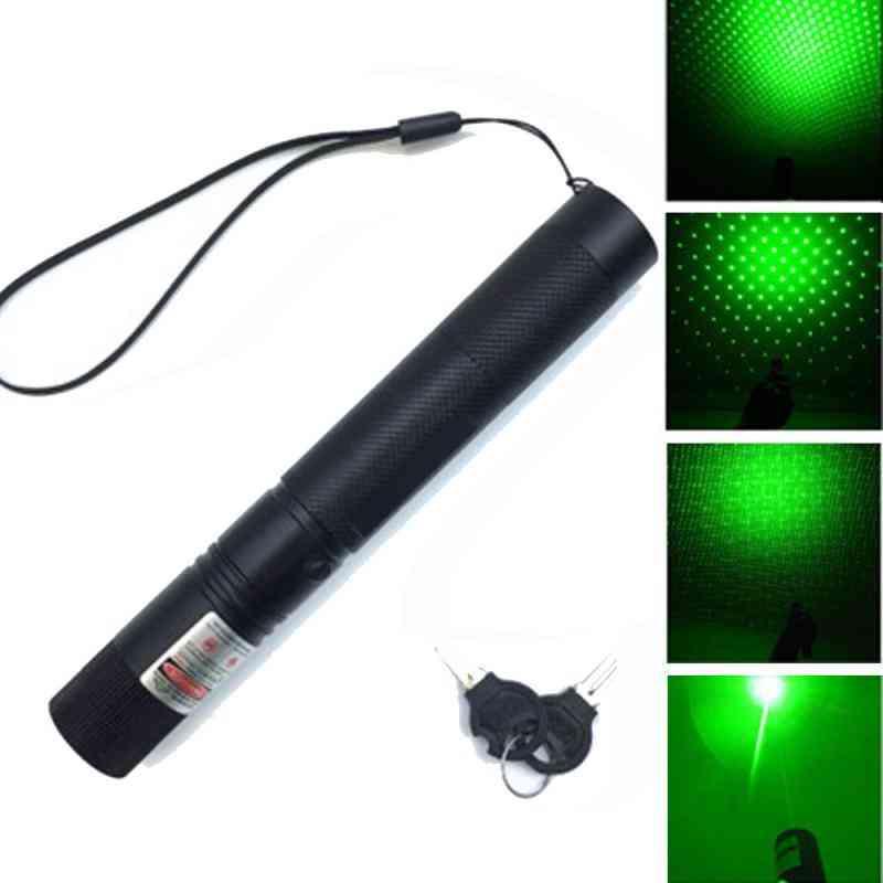 Powerful Laser Pointer, Adjustable Focus, Pen Light For Hunting Sight