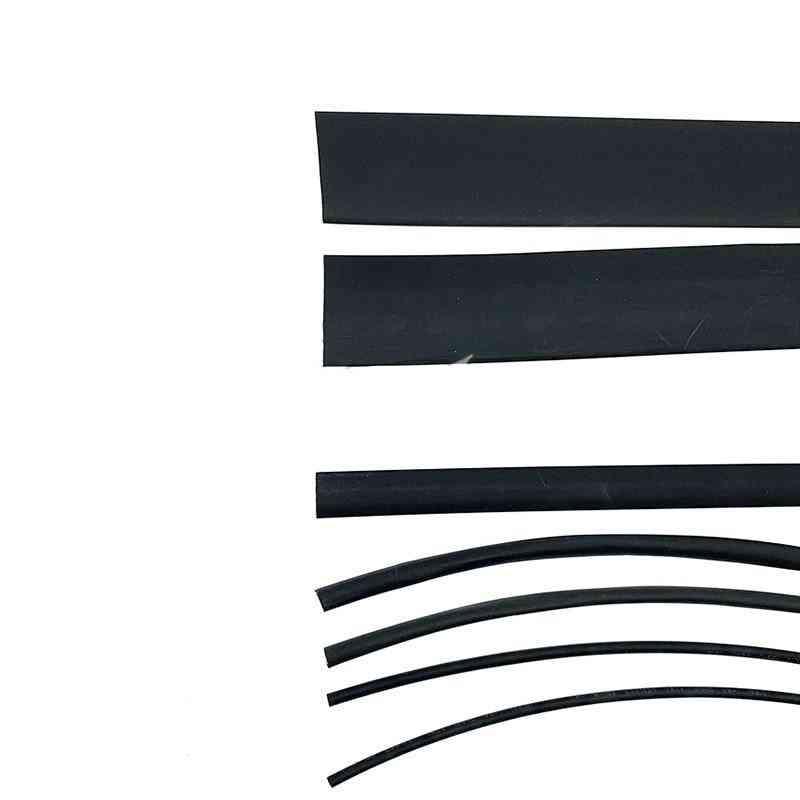 1 Meter/lot 2:1 Black 0.6mm 0.8mm 1mm 1.5mm 2mm 2.5mm 3mm 3.5mm 4mm 4.5mm Heat Shrink Heatshrink Tubing Tube Sleeving Wrap Wire