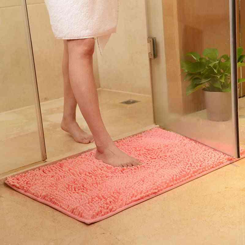Bath Mat Water Absorb Anti Slip Bathroom Rug Carpet