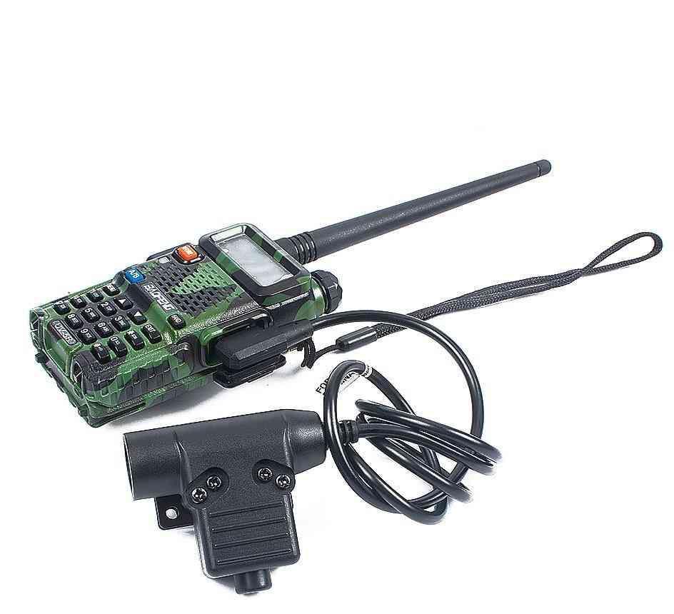U94- Tactical Ptt, Rac Comtac, Tmc Headset Plug  Accessories