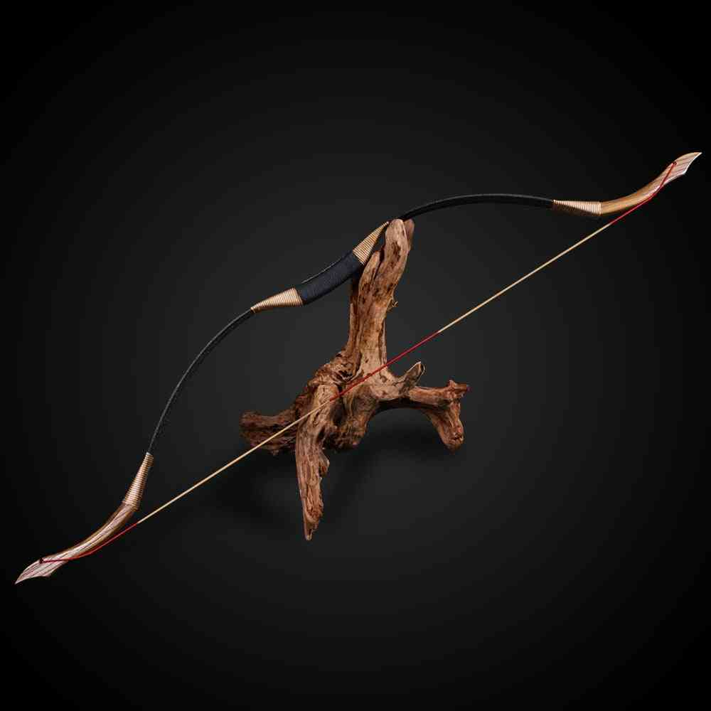 Archery Pure Handmade Recurve Outdoor Shooting Hunting Bow