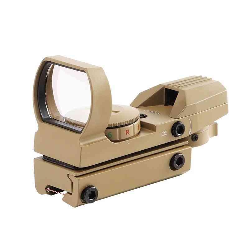 Rail Riflescope, Hunting Optics, Red Dot Sight, 4-reticle Tactical Scope, Collimator