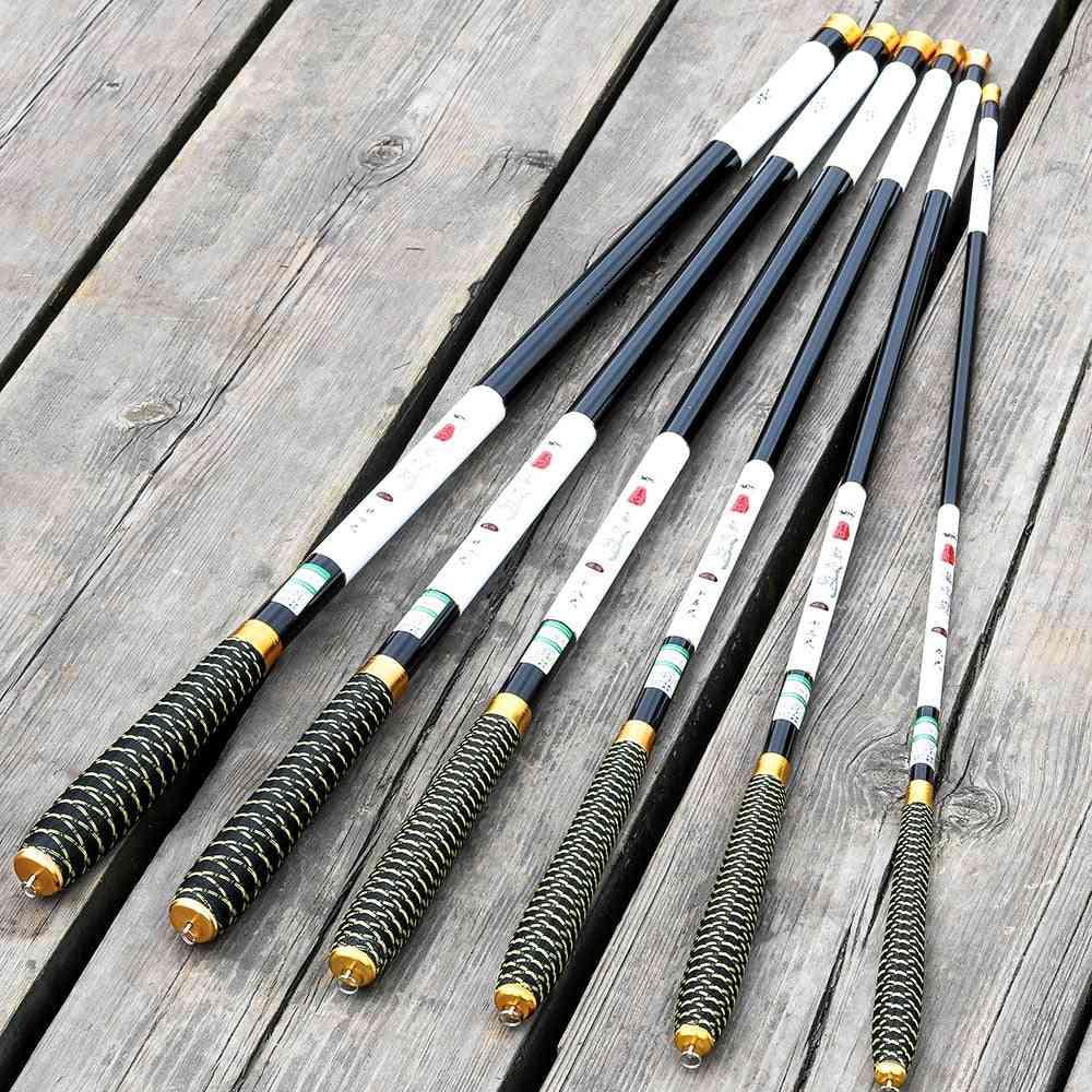 Ultralight Super Hard, Stream Hand Pole, Carbon Fiber, Casting Telescopic, Fishing Rod