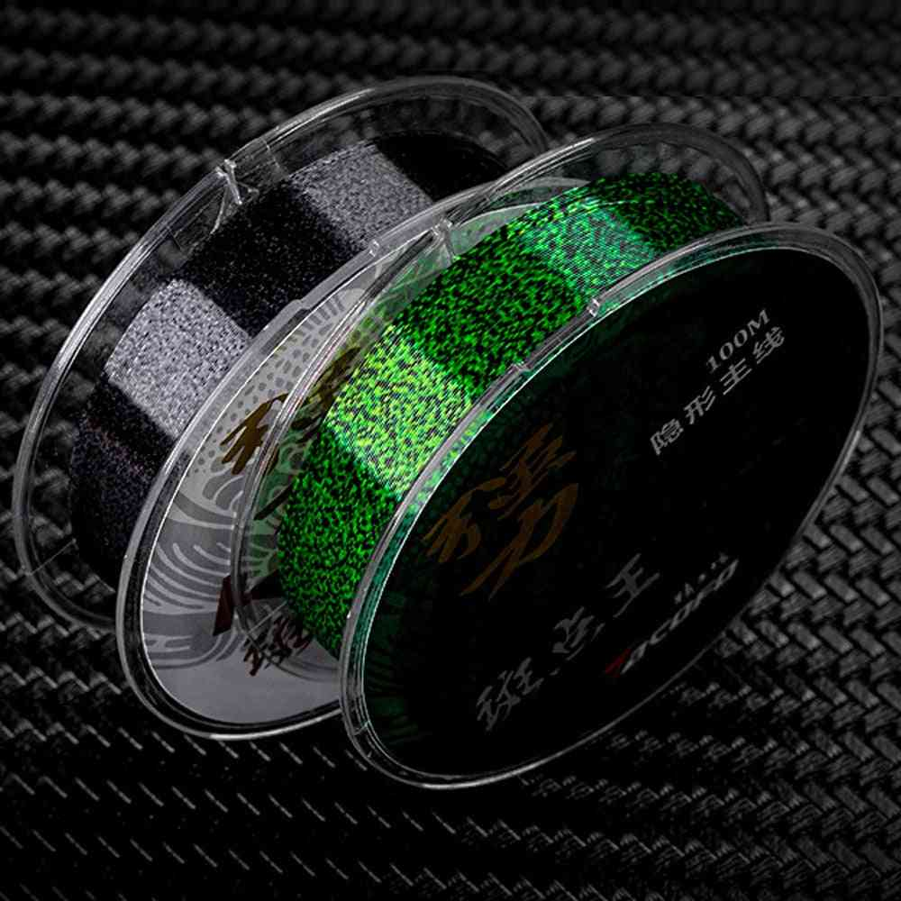 Invisible Speckle Carp, Fluorocarbon Super Strong, Spotted Fly Fishing Line