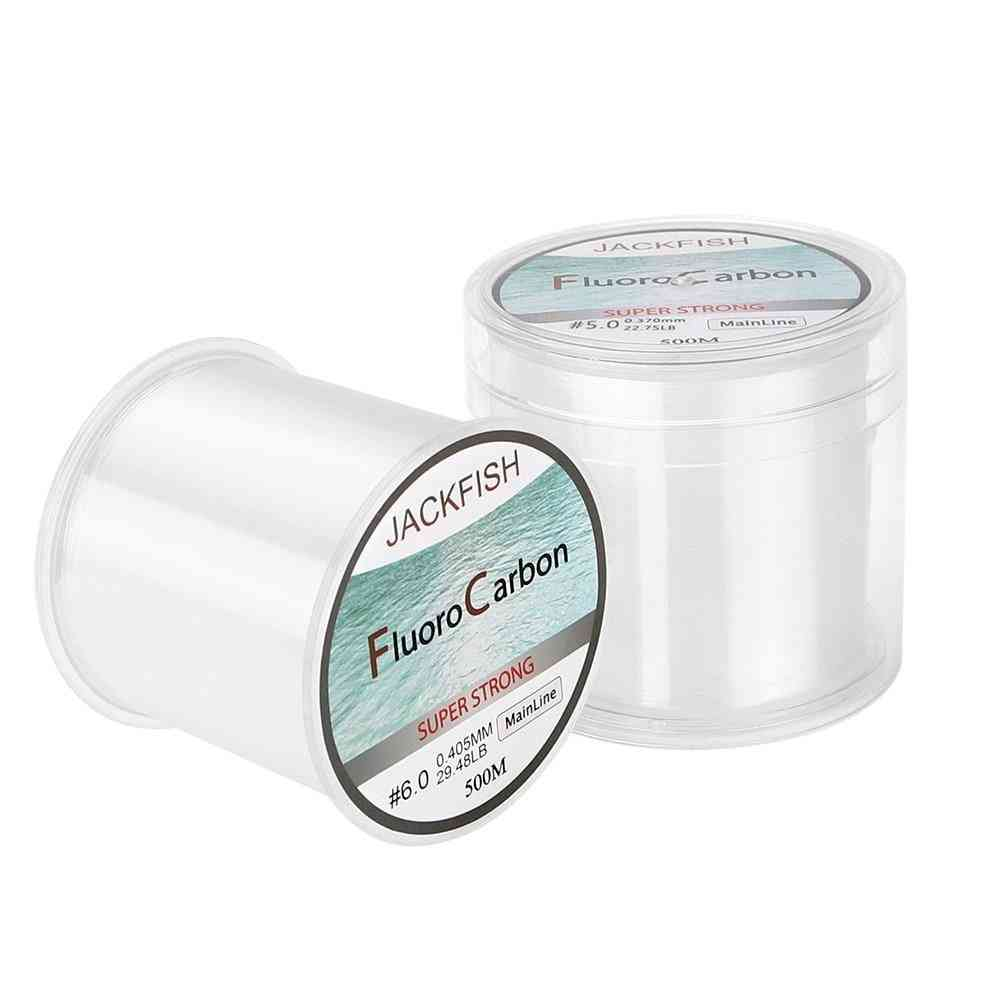 Fluorocarbon 5-30lb Super Strong Clear Fly Fishing Line