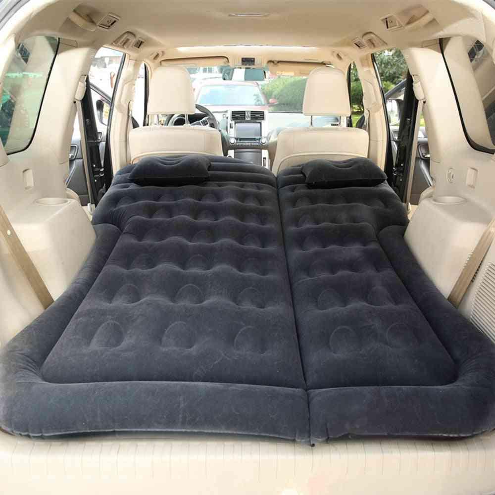 Auto Inflatable, Car Bed Air Mattress, Travel Sleeping Pad (black)