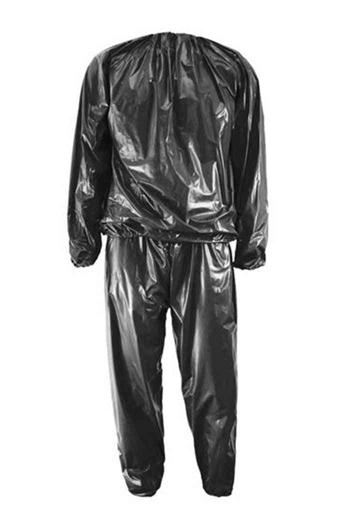 Heavy Duty Fitness Weight Loss Sweat Sauna Suits Exercise Gym Anti-rip