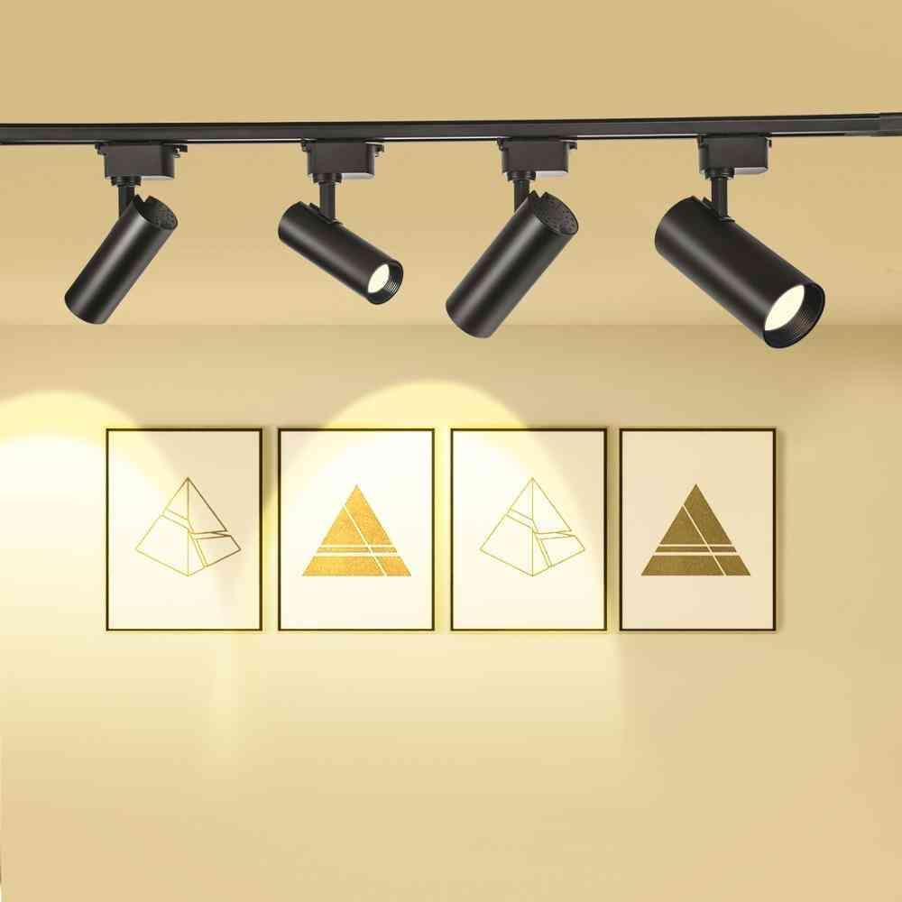 Led Track Light, Rail Spotlight Lamp Track For Home Window Display Lighting