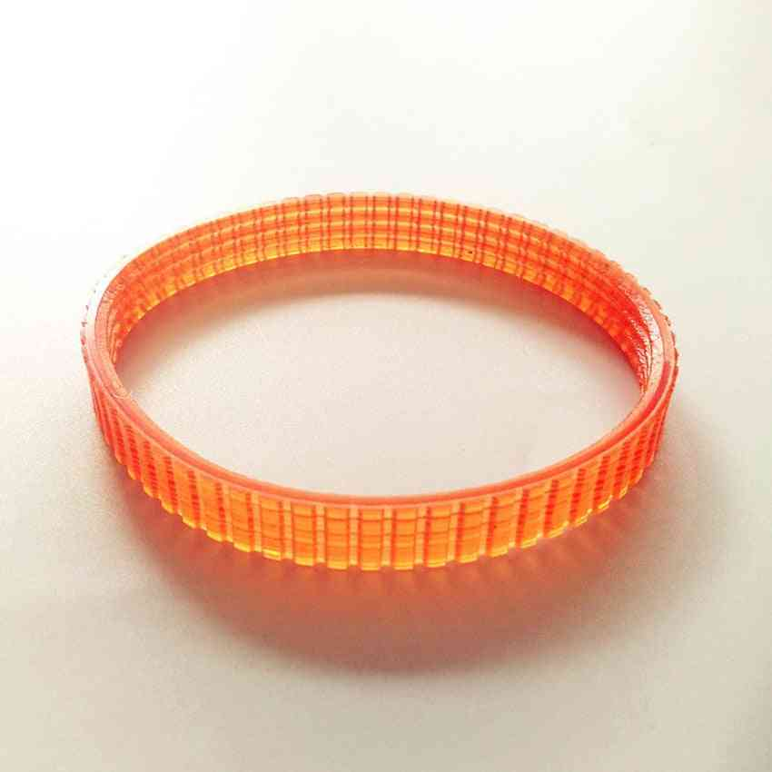 Electric Planer Driving Belt For Girth Belt, Orange Planer Accessories