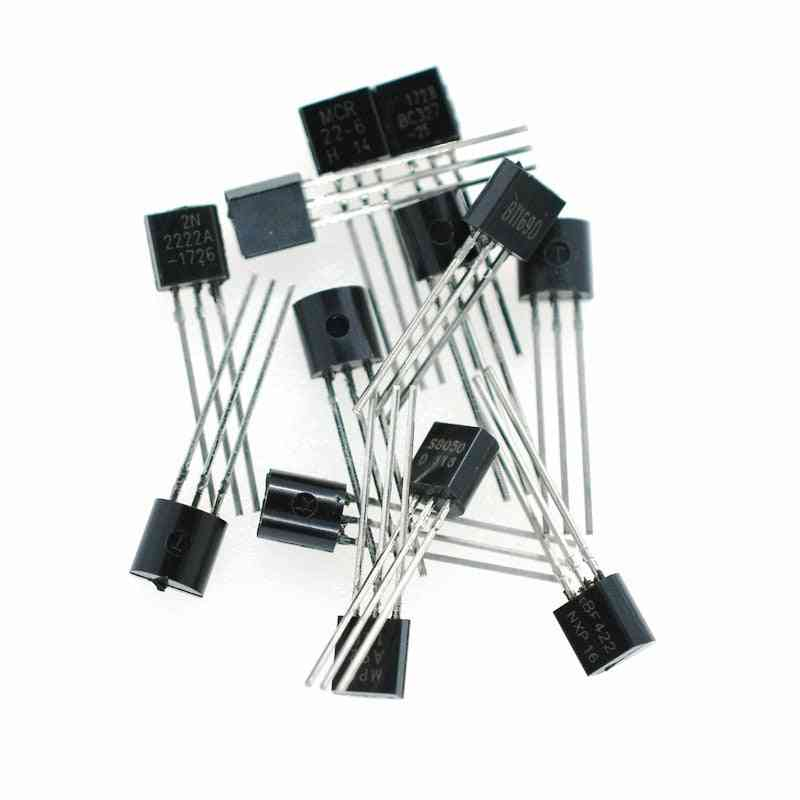 100pcs/lot Triode Npn Switching Transistors To-92 0.6a 30v Npn 2n2222