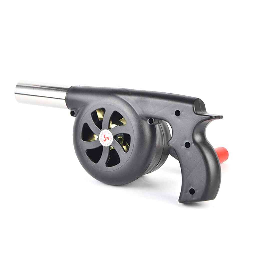 Large Outdoor Hand-cranked Combustion Blower