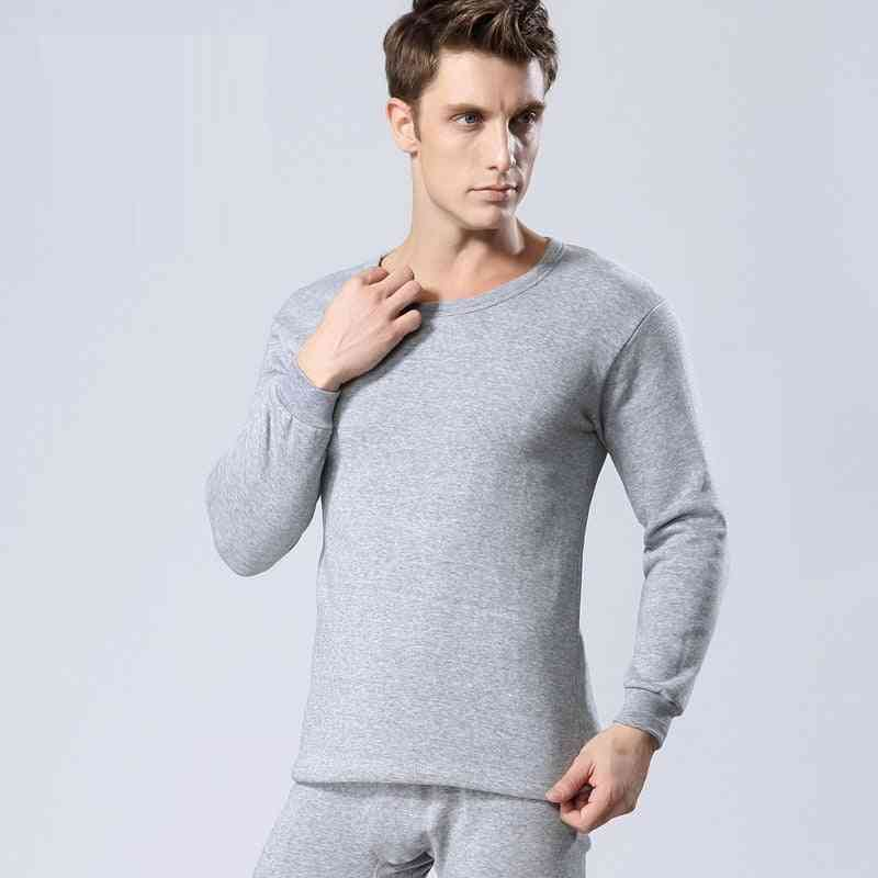 Winter Long Johns Thick Thermal Underwear Sets, Men