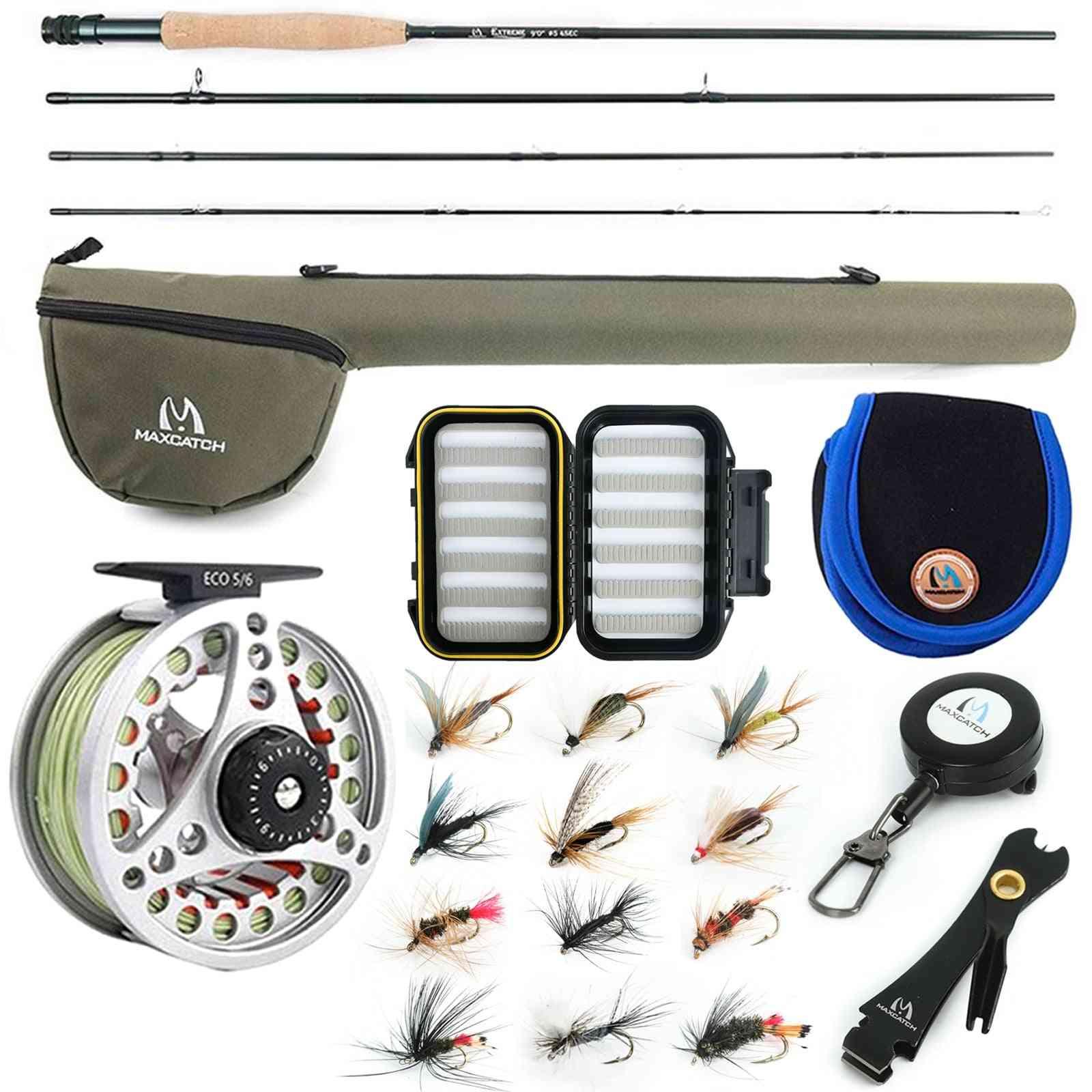 Fishing Combo Medium-fast Fly Rod
