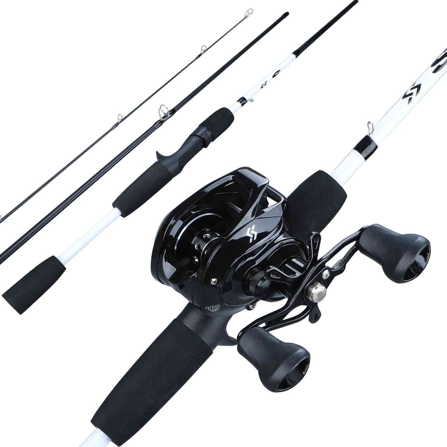 Portable 3-section, Combo Carbon, Fishing Rod