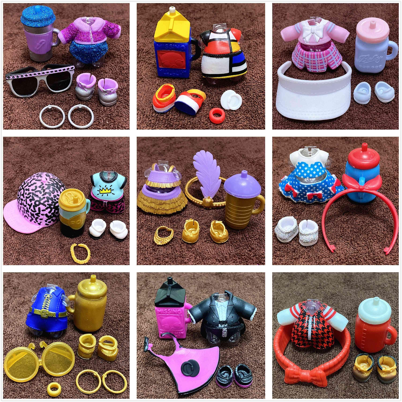 1 Set Original Clothes Shoes Bottles Accessories Dress Suit