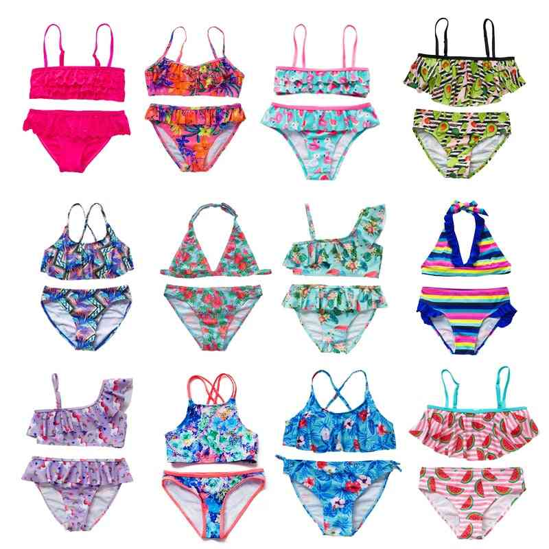 Two-pieces Print, Swimwear Swimsuits For Set-1