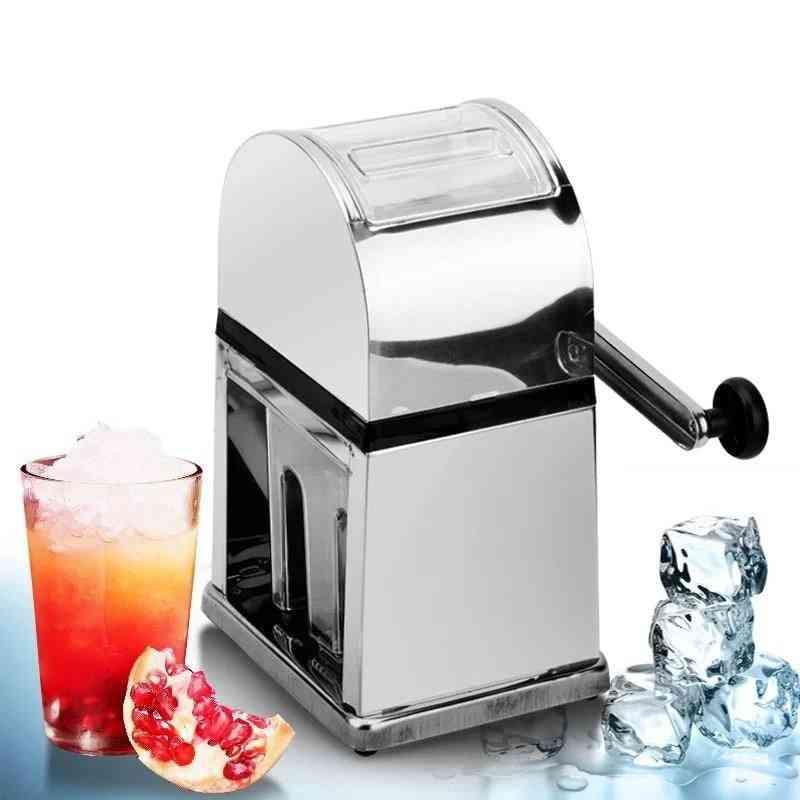 Stainless Steel Manual Ice Crusher Mini
