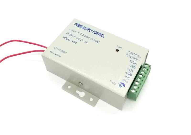 Door Access Control System Switch Power Supply 3a / Ac 110~240v