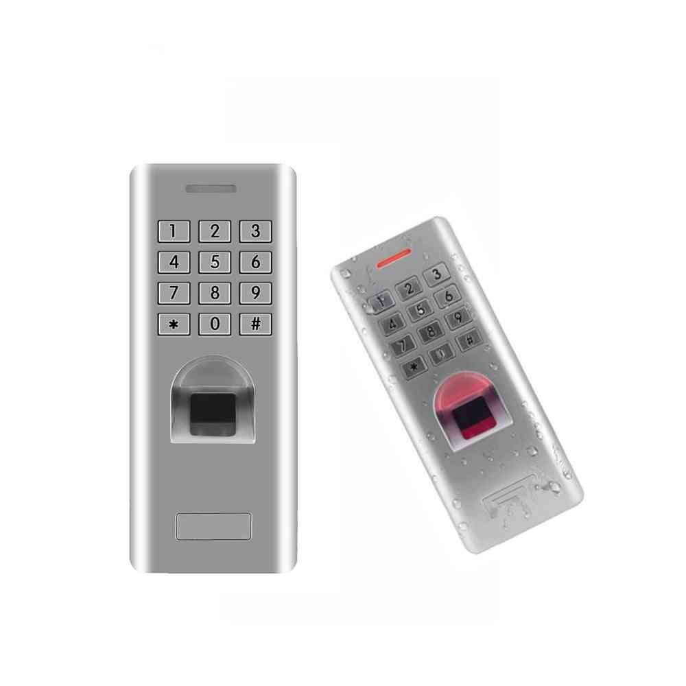 Fingerprint Password Keypad Access Control Reader For Security Door Lock System