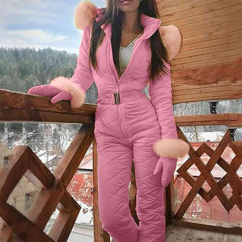 Winter Warm- Casual Thick, Snowboard Jumpsuit