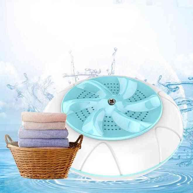 Mini Ultrasonic Washing Automatic Prevent Winding Wave Wheel Laundry Machine