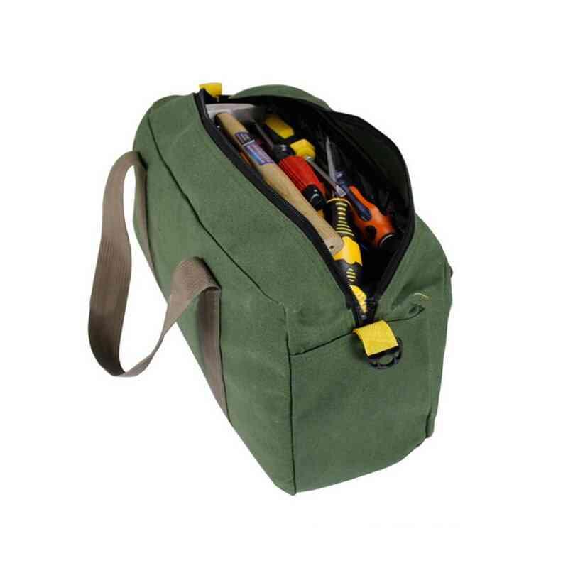 Multi-function Canvas Waterproof Hand Tool Storage Carry Bag