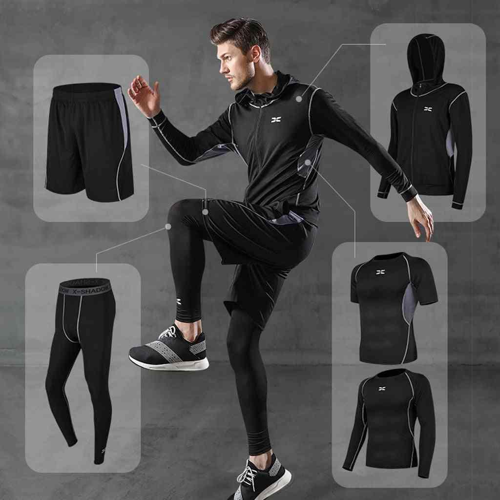 Men Compression Sportswear Suits