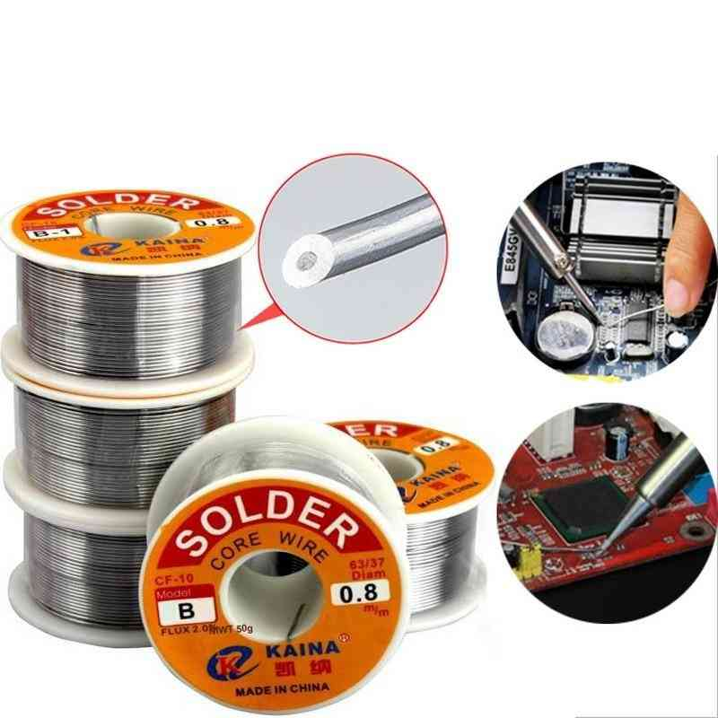 Lead Tin Wire Melted Rosin Core Solder Wire