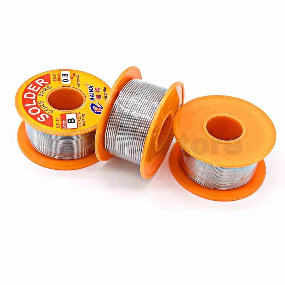 Lead Tin Wire Melt Rosin Core Solder Soldering Wire Roll