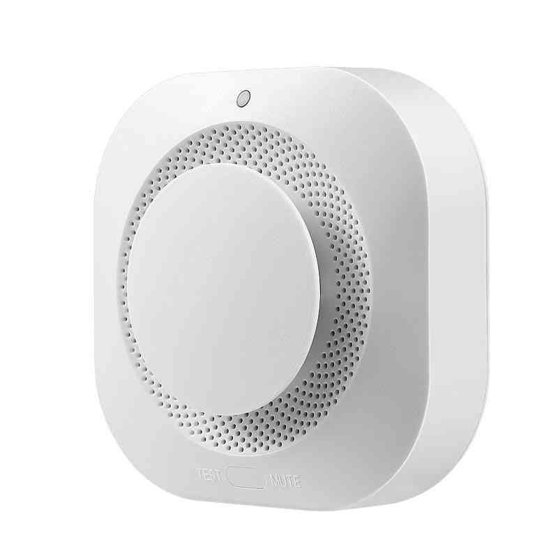 Wifi Smoke Alarm, Fire Protection, Detector Sensor For Home Security System
