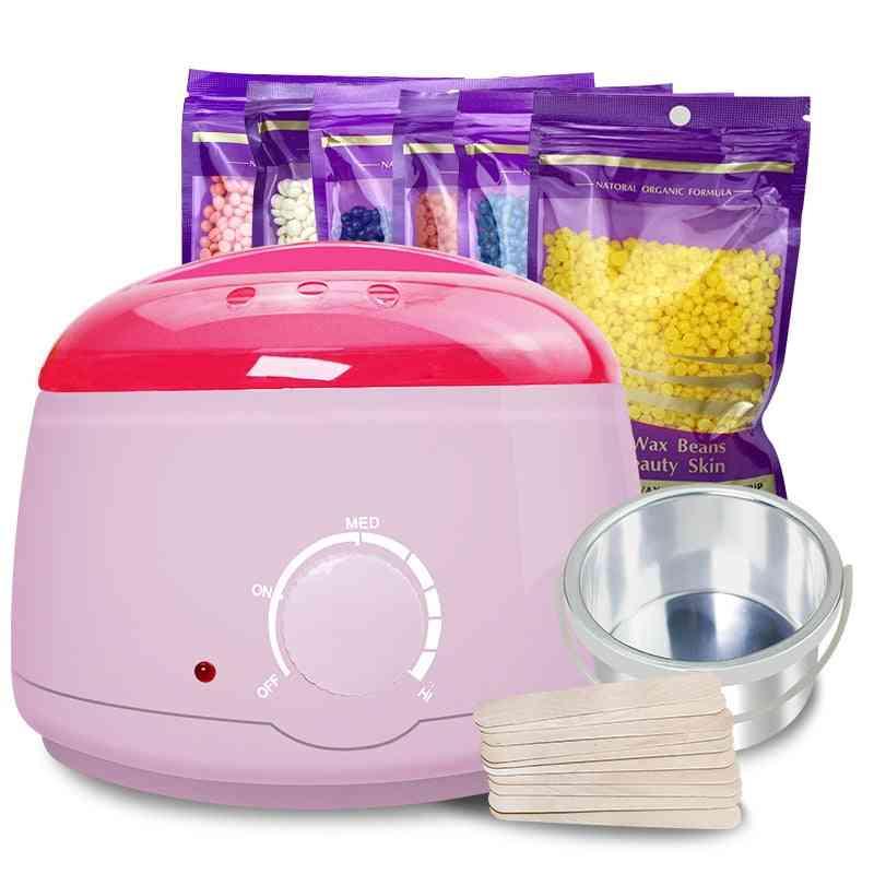 Wax Heater, Hair Removal Cream With Beans Wax Warmer Heater Machine