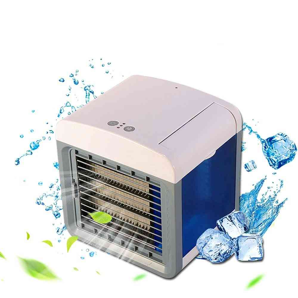 Air Conditioner Cooling Fan, Desktop Humidifier Purifier For Office, Home