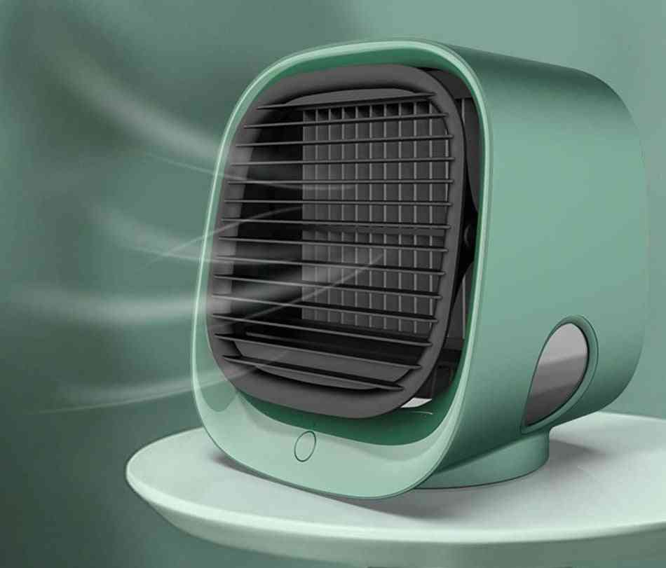 Air Conditioner Usb, Air Cooler Led Humidifier, Purifier Fan With Water Tank
