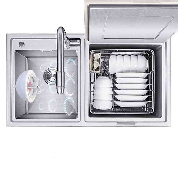 Mini Dishwasher- Ultrasonic Oxo Fruit, Vegetable Usb Portable, Wash Machine