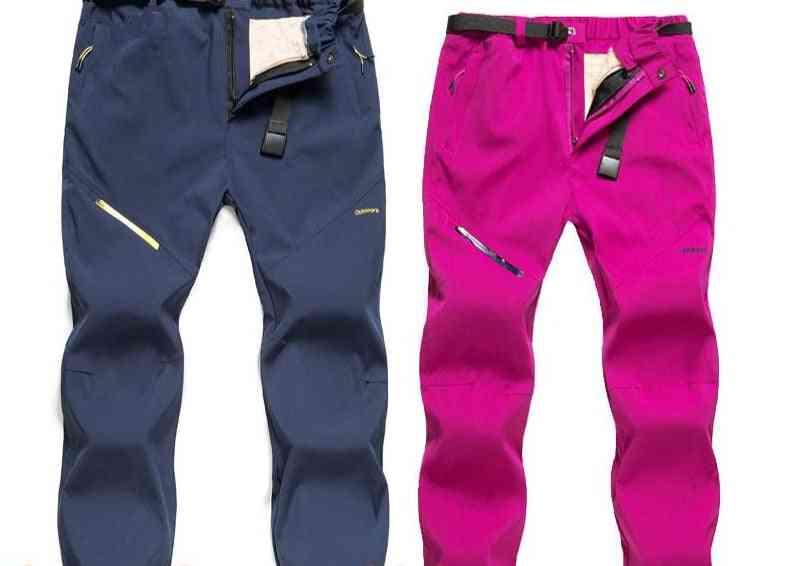 Waterproof  Women Winter Warm Pants