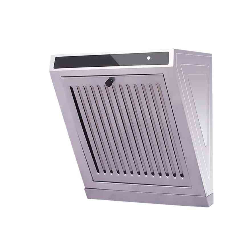 Side-suction Range Hood Kitchen, Oil Smoke Exhauster Cleaner, Ventilator Fan Lampblack Machine