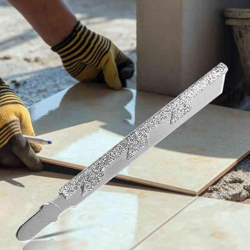 T-shank Alloy Diamond Jigsaw Blade For Marble Stone