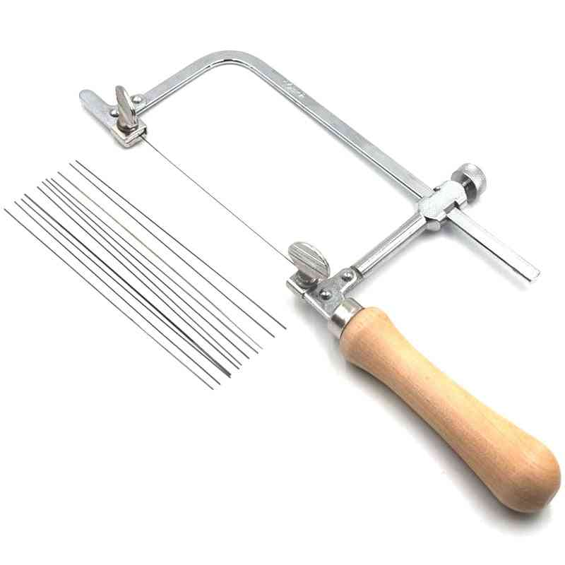 Professional Saw Bow Wooden Handle Of Jewelry Saw Frame