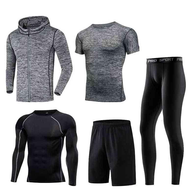 Men Sportswear Compression Sport Suits