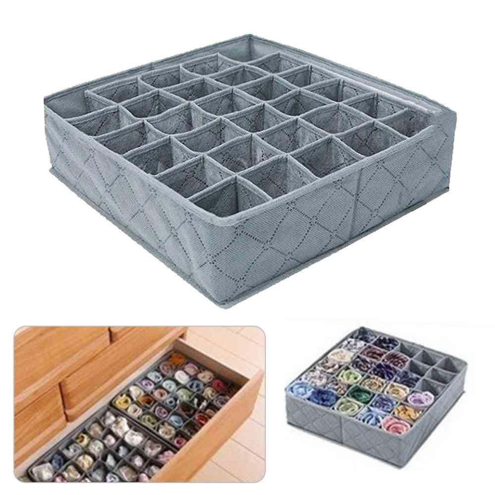 Foldable Underwear Drawer Dividers Closet Dresser Clothes Storage Organizer Box
