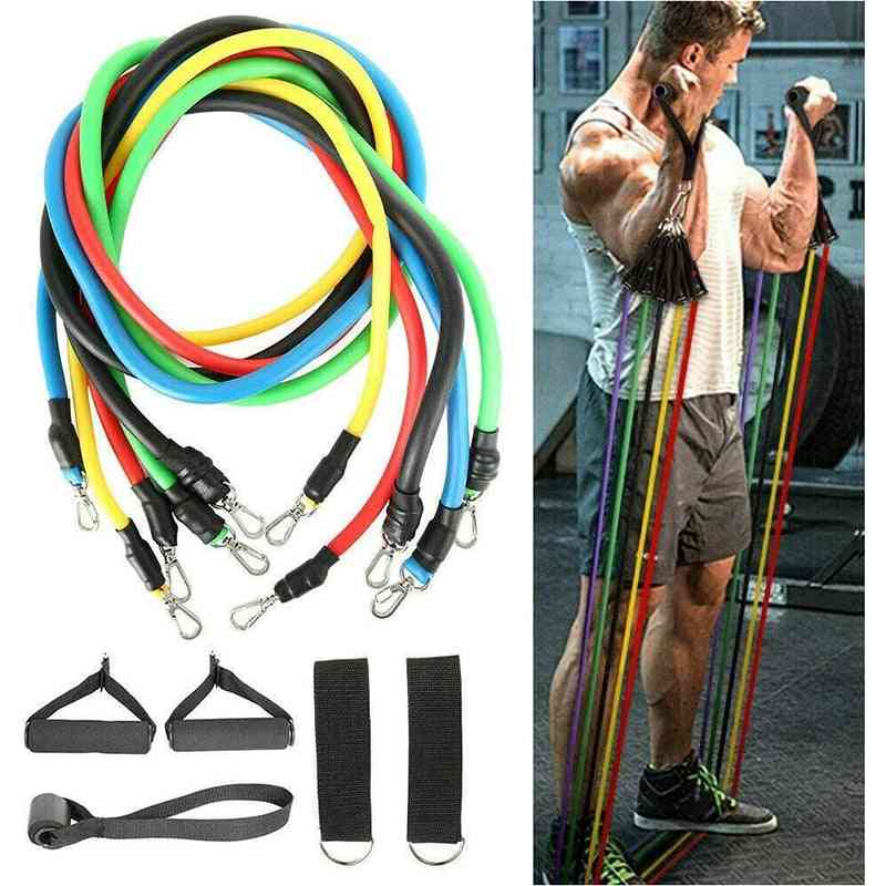 Resistance Bands Workout, Exercise, Crossfit, Fitness Training Tubes