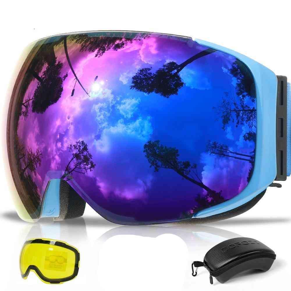Uv400 Protection Anti-fog Snowboard Ski Glasses Woman